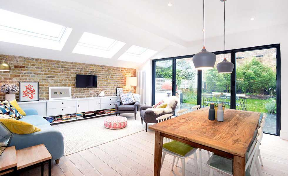 Scandinavian-style-London-flat-extension