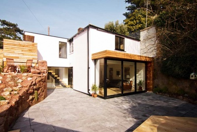 garage conversion exterior