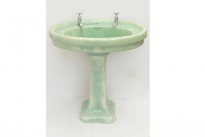 Armitage ware green basin