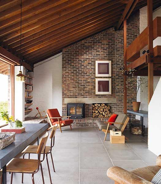 Scandinavian style sitting room