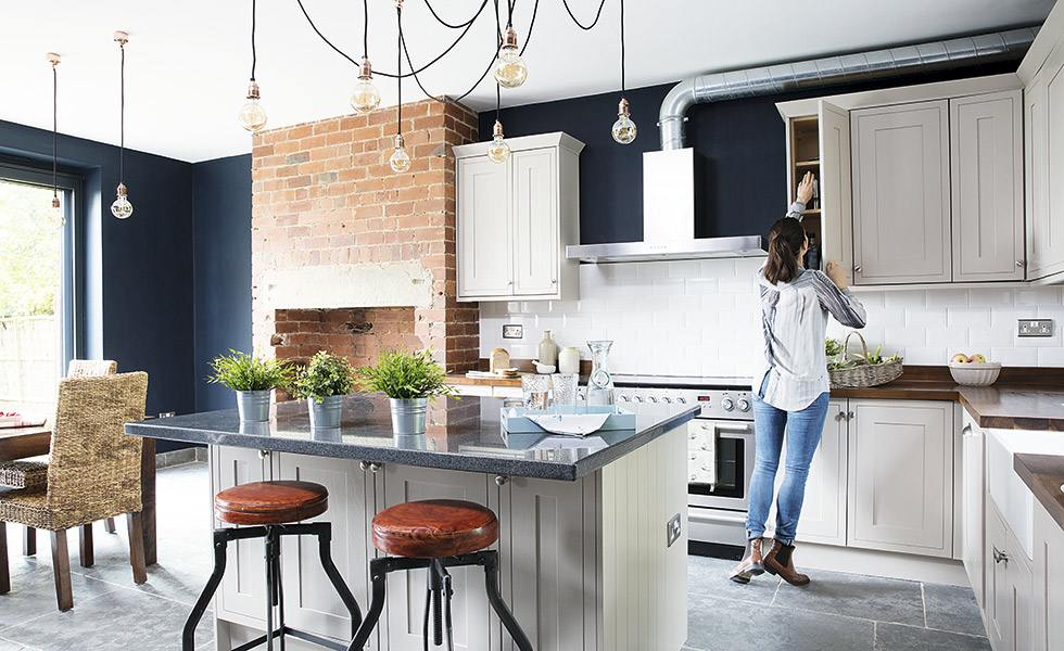 Creating An Industrial Style Kitchen Real Homes