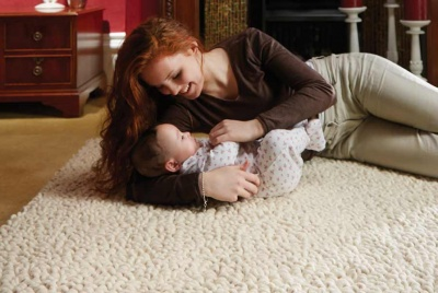 just a rug carpet baby ivory