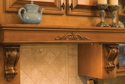osborne Add Corbels or Brackets to Your Range Hood or Mantel