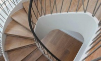 canal engineering architecture steel stair