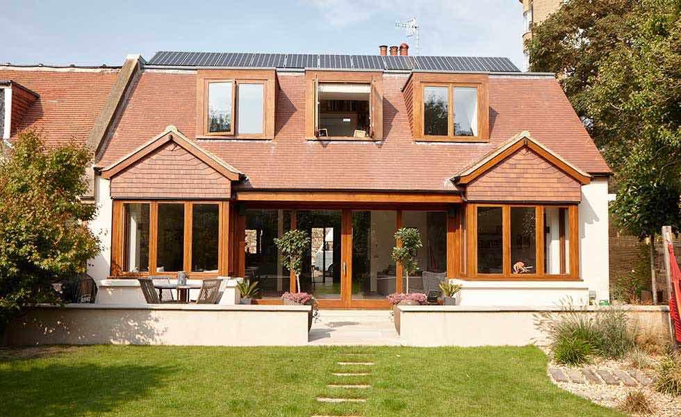 Rossiter bungalow conversion exterior