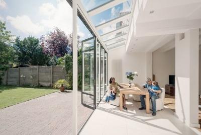 Solarlux bi-folding doors living with light