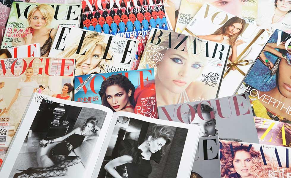 decluttering-piles-of-magazines