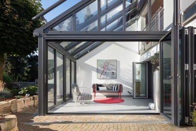 Solarlux Wintergarden glass extension