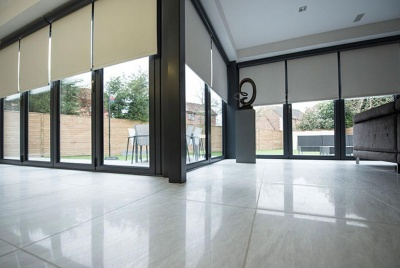 haus glass blinds bifold doors