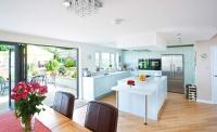 nu-heat finished kitchen after underfloor heating
