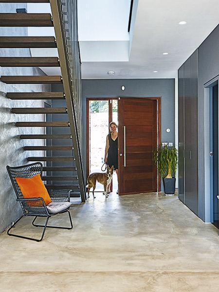 Industrial-style-hallway
