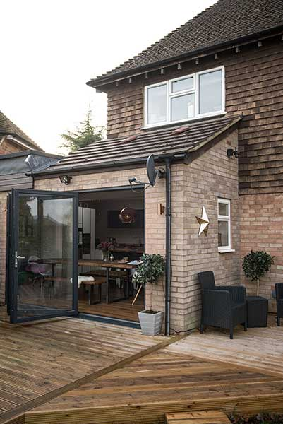 Garage Conversion In A Family Home Real Homes