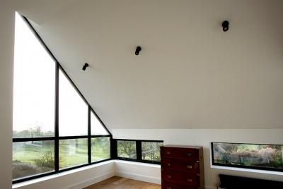 hedgehog aluminium windows sloped glazing