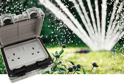 Run electricity outdoors conveniently and safely with Hamilton's waterproof range of sockets