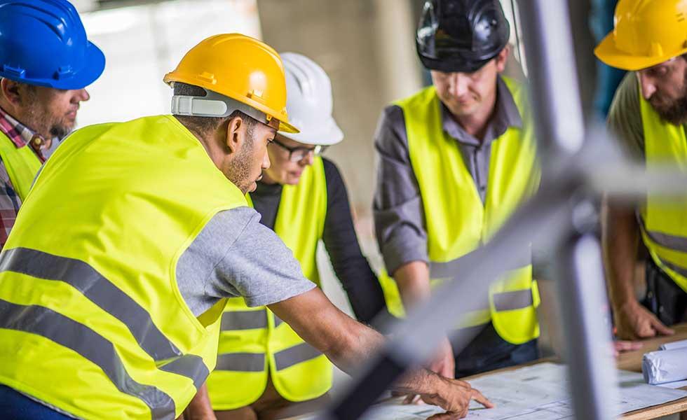 Hiring a team of builders