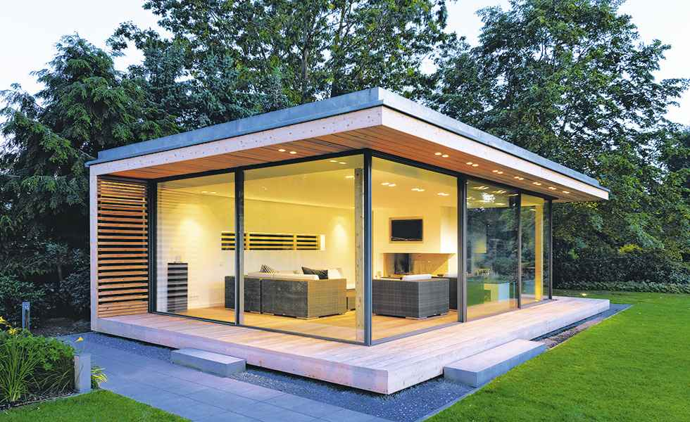 Garden rooms can be a major investment