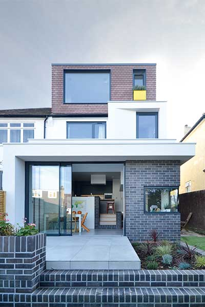 Two-storey extension from Selencky Parsons architects