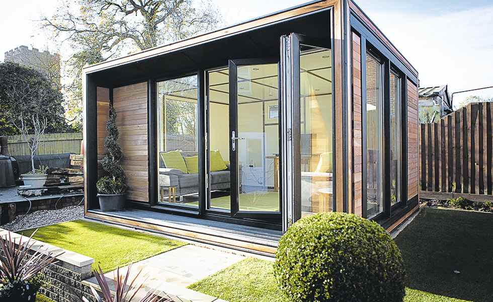 How to add a garden room real homes for Prefabricated garden rooms