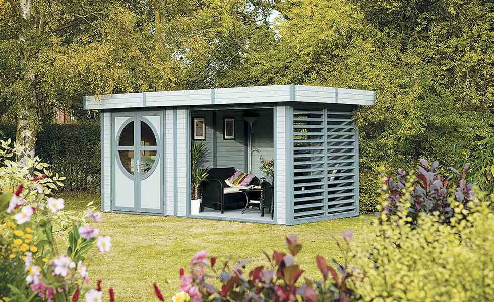 Garden rooms don't have to cost a fortune