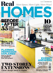 Real Homes magazine July 2017