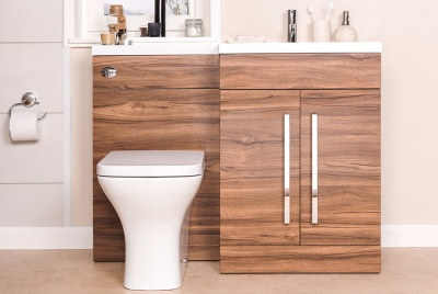 Bathroom takeaway furniture storage sink cupboard unit closed