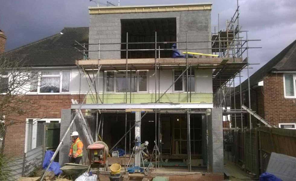 extension to Barnet home by N London Construction