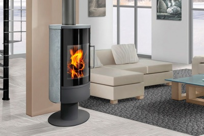 Premium quality stoves with different finishes