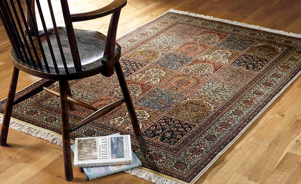 jennings Kashmir Silk Rug