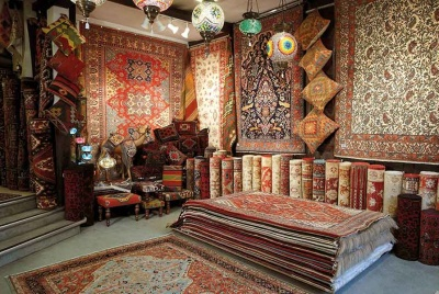 Jennings oriental rugs showroom