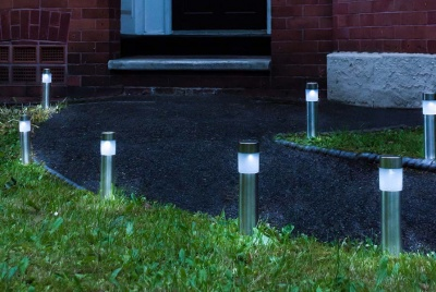 LED hut outdoor posts