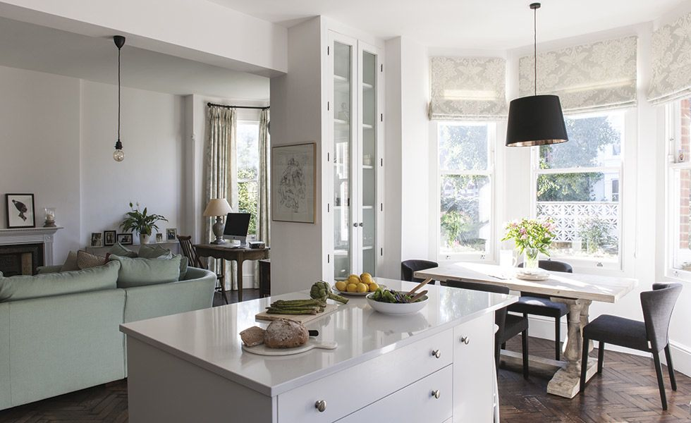 white open living space