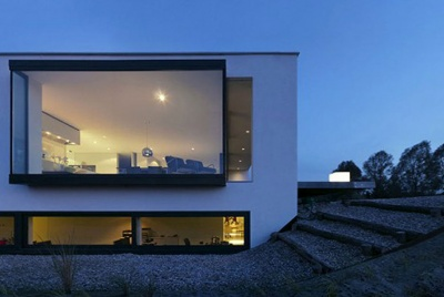 haute panoramic glazing schueco glass box