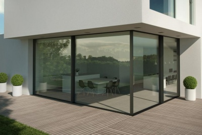 livingwood windows and doors corner glazing