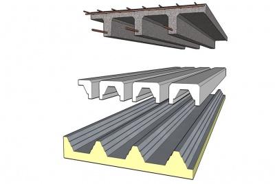 Op-Deck Insulated concrete floor