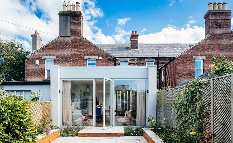 exterior kitchen extension