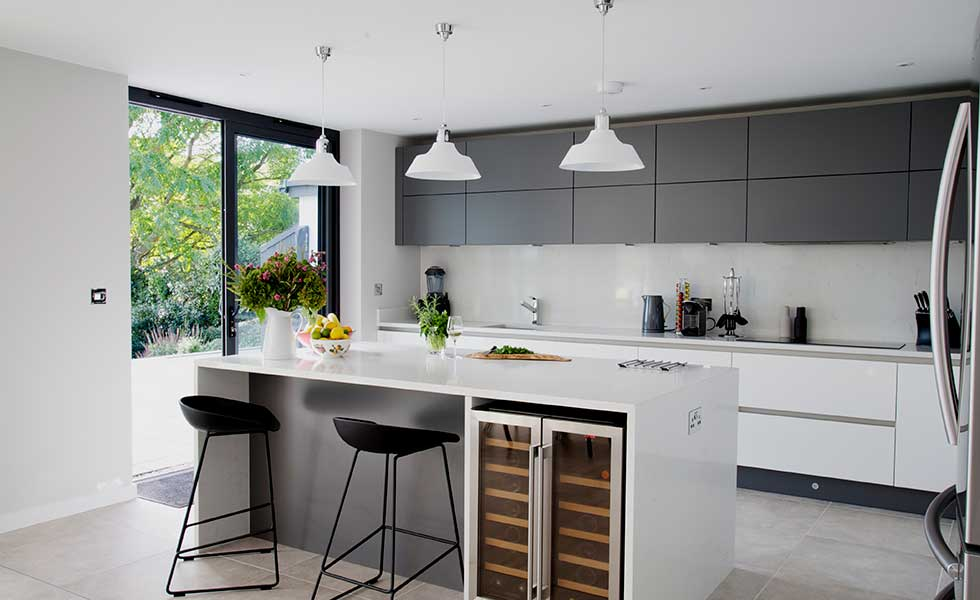 Bright bungalow extension and remodel