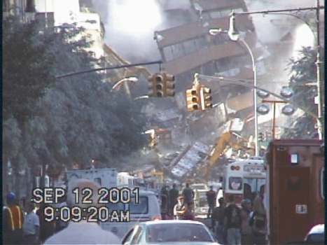 A robot's-eye view of the aftermath of the 9/11 terrorist attacks