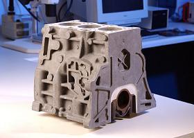 magnesium alloy engine block