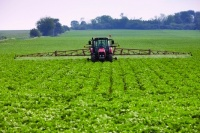 Precision farming - satellite guided combine harvesters could help maximise yields