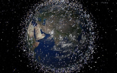 Scientists estimate that there could be up to a million items of space debris orbiting the Earth