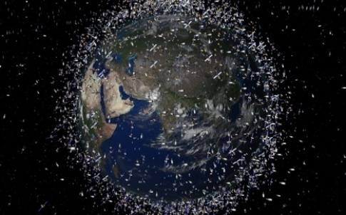 Space debris is a growing problem