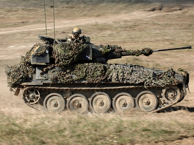 The new Specialist Vehicles will replace the Scimitar reconnaissance vehicle