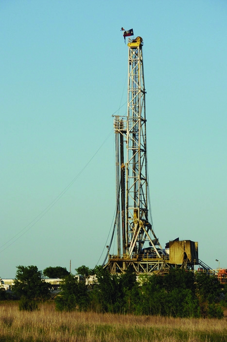 Tried and tested: The 'fracking' extraction technique has been used since the 1940s