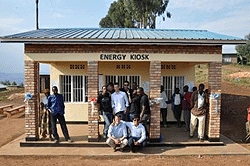 E.quinox has developed a solution to bring electricity to rural communities in developing countries using renewable energy: simple, cost-effective, robust and easy to maintain.