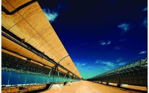 Think big: energy from desert solar farms will be fed into the grid