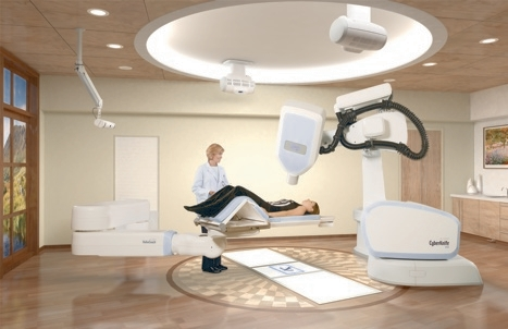 The Cyberknife radiotherapy system can compensate for patient movement