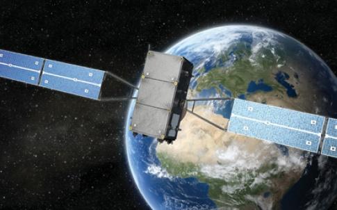 32-33 European navigation system satellite against Earth.jpg