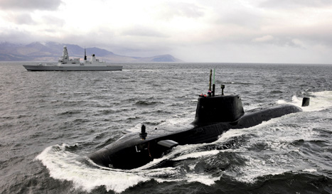 Complex: nuclear submarines require every engineering discipline