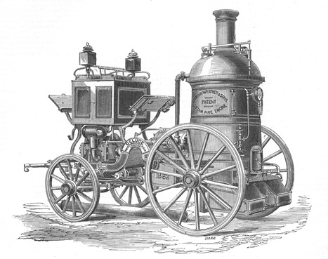 the steam powered fire engine the engineer the engineer