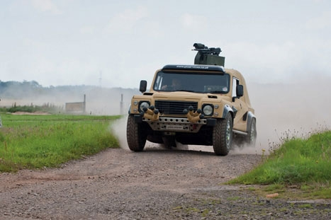 Going strong: the Wildcat is designed to be lightweight yet stable and rigid